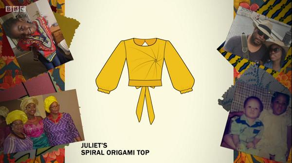 juliet origami sketch