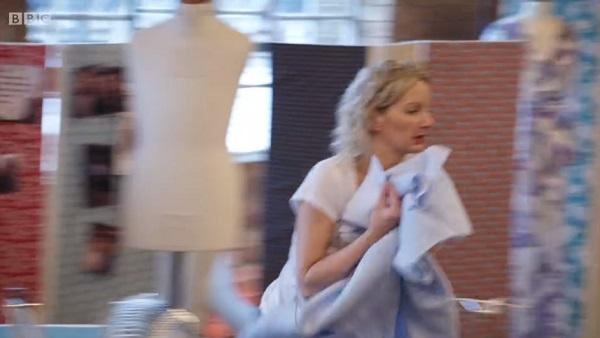 Leah sprinting