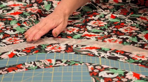 mercedes print fabric