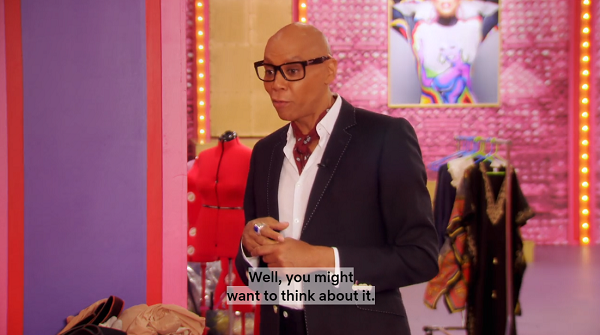 Ru stirring the pot