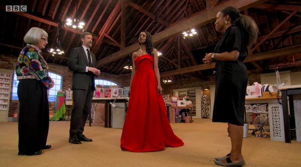 juliet red gown