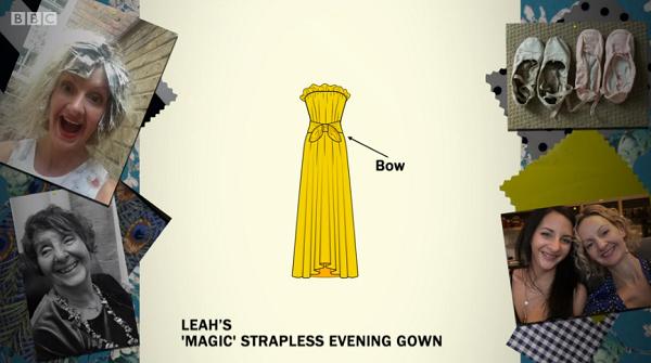 leah ballgown design sketch
