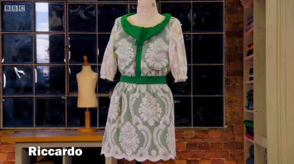 riccardo net curtain dress