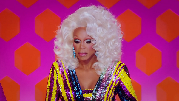 rupaul full body cringe