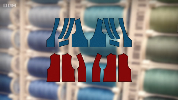 waistcoat pattern pieces