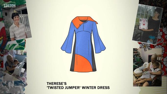 batwing jumper dress