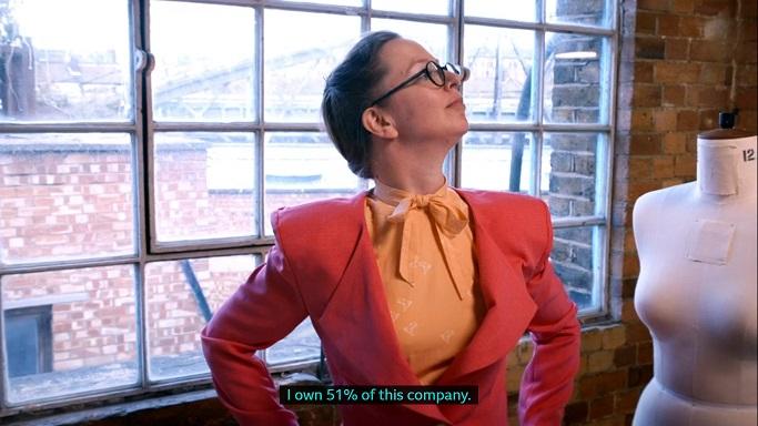 clare as Alexis Carrington