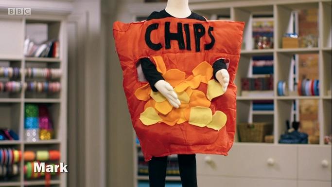 crisps costume