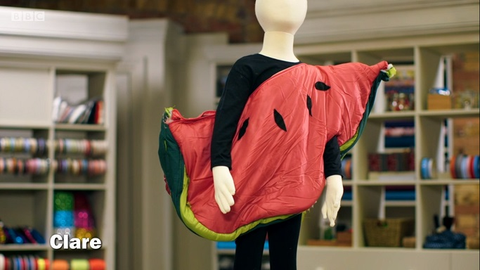 watermelon slice costume