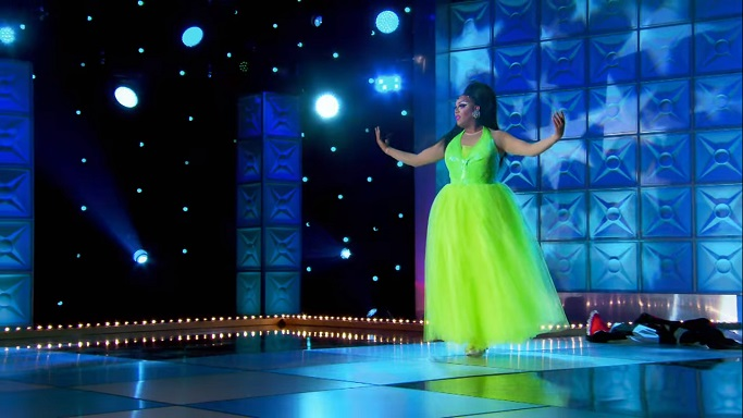 alexis ballerina lime green