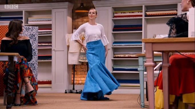 clare flamenco skirt