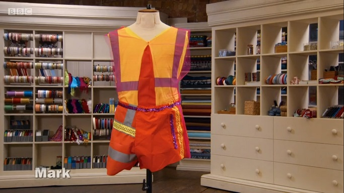 mark roller disco outfit