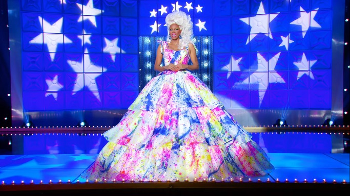 rupaul gown